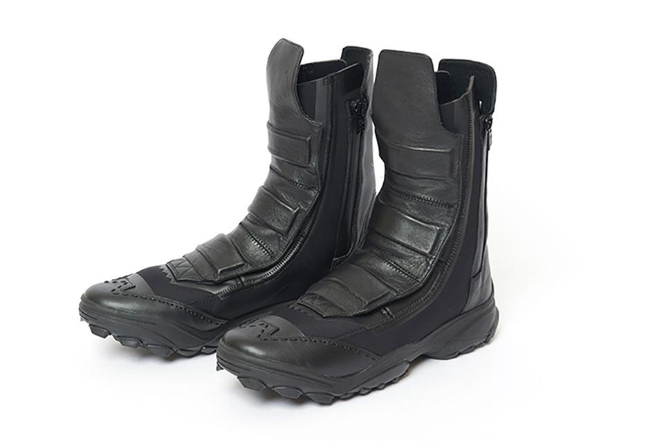 886663e3b0ab Yohji Yamamoto and adidas collaborate on FW 2016 premium leather winter  boots — Hombre Amsterdam