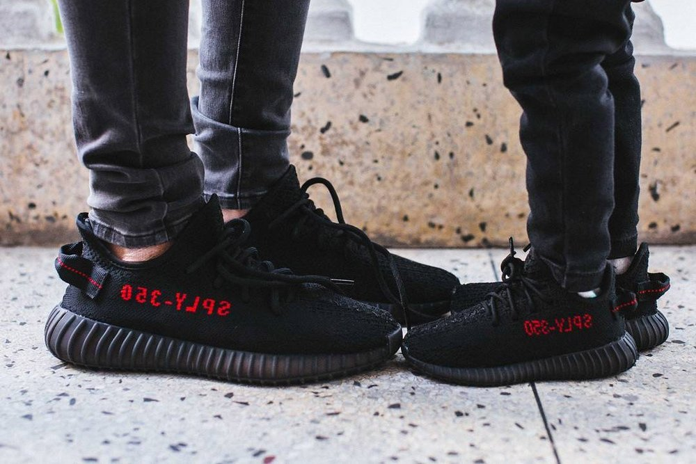 Adidas Yeezy 350 V2 Black Pink on Foot HD Review