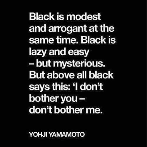 Quote of Yohji Yamamoto! #hombreamsterdam #yohji #yamamoto #adidasy3