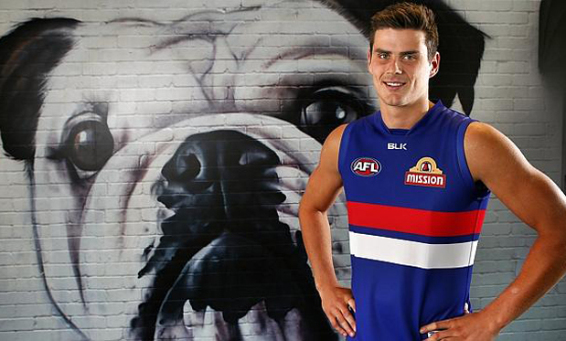 Western Bulldogs youngster Tom Boyd. Image:Michael Klein