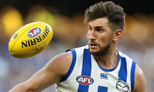 North Melbourne forward Jarrad Waite. Image: Adam Trafford