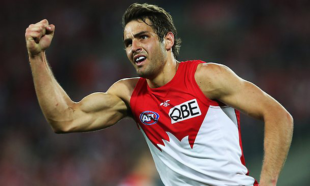 Josh Kennedy is having another terrific year as part of Sydney's star-studded midfield. Image: Daily Telegraph
