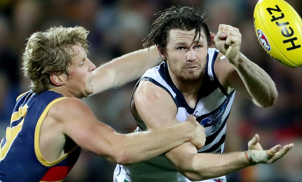 Patrick Dangerfield is one of several former Adelaide players thriving at another club. Image: Calum Robertson
