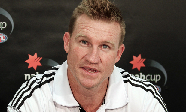 Collingwood coach Nathan Buckley. Image: Flickr