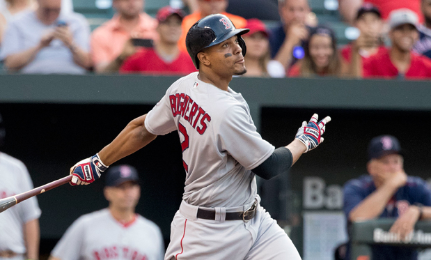 Xander Bogaerts is having an MVP-calibre year for the Red Sox. Image: Flickr