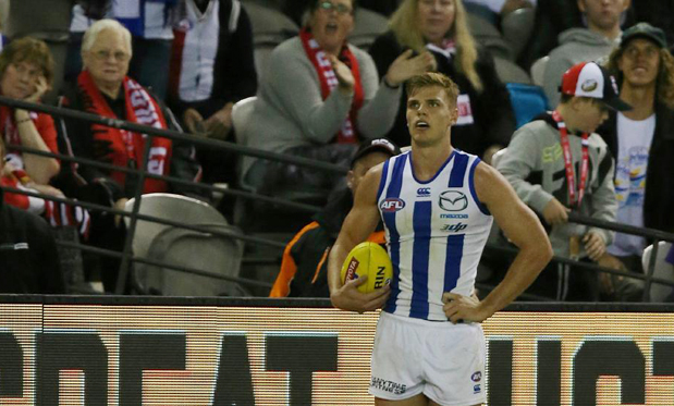 Mason Wood made the AFL look foolish by doing what any smart player would have done. Image: George Salpigtidis