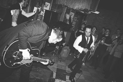 One of @mightychildish aka Cryptofur's first gigs with us back in 2004. #memphismorticians #thememphismorticians #rockabilly #psychobilly #horrorrock #rocknroll #livemusic #ottosshrunkenhead #gretsch