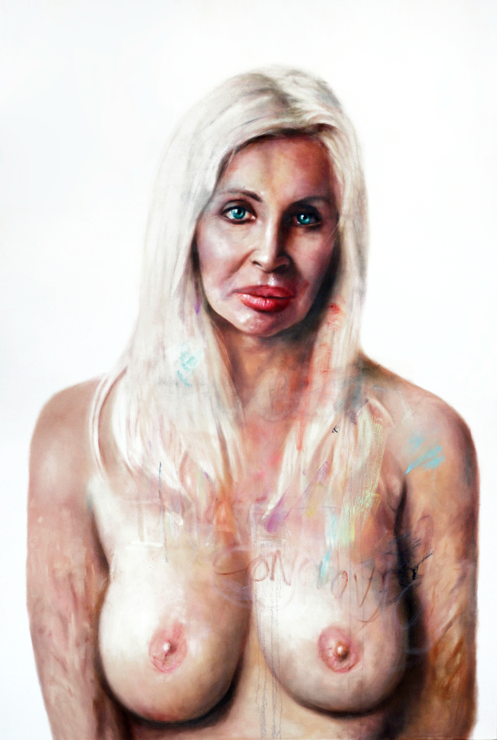 Ora, 270x200cm oil on canvas  $25,000