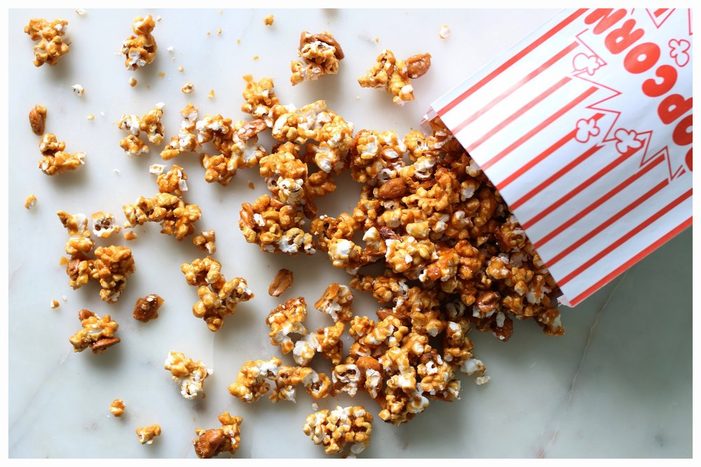 Honey Roasted Peanut Caramel Corn