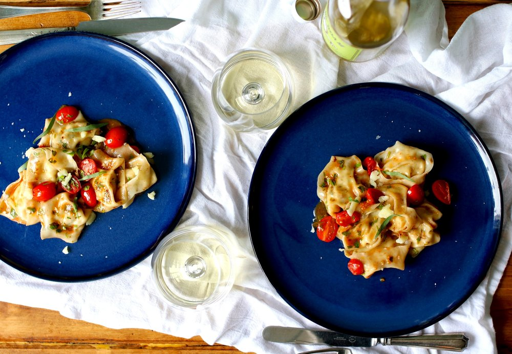 Brown Butter Lobster Tortellini
