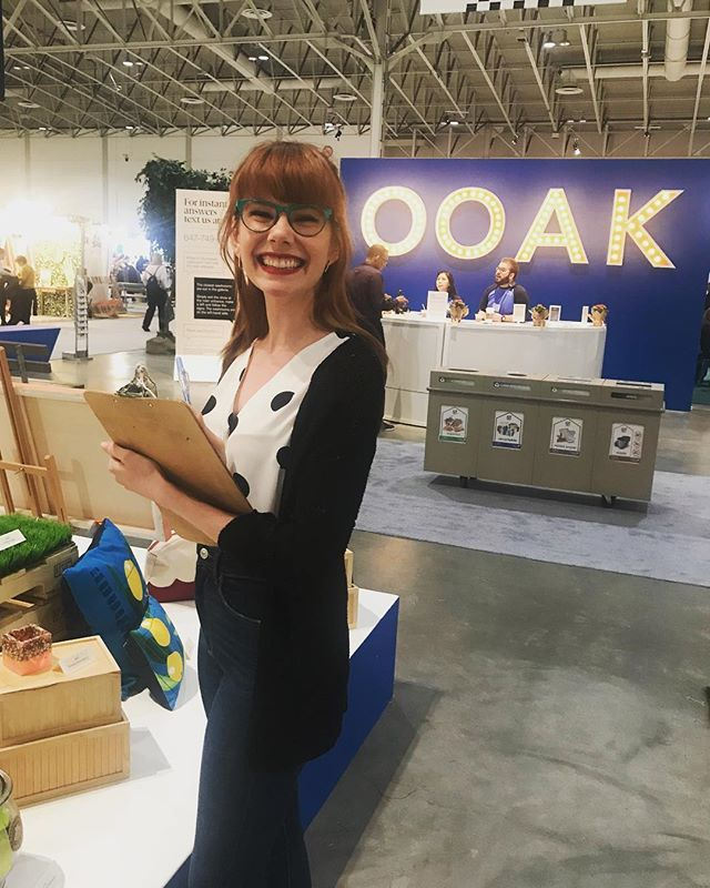So so so excited to be chatting all things food and #ooak finds this Saturday at 1pm on the main stage at the @ooak_toronto show! This morning, I had the pleasure of moseying about the show and already have my list of must-buys! If you've got a fave artisan, let me know! I've got two pairs of tickets to give away to the first two people to comment below with their favourite #ooak makers! 💕💕🙌💕💕