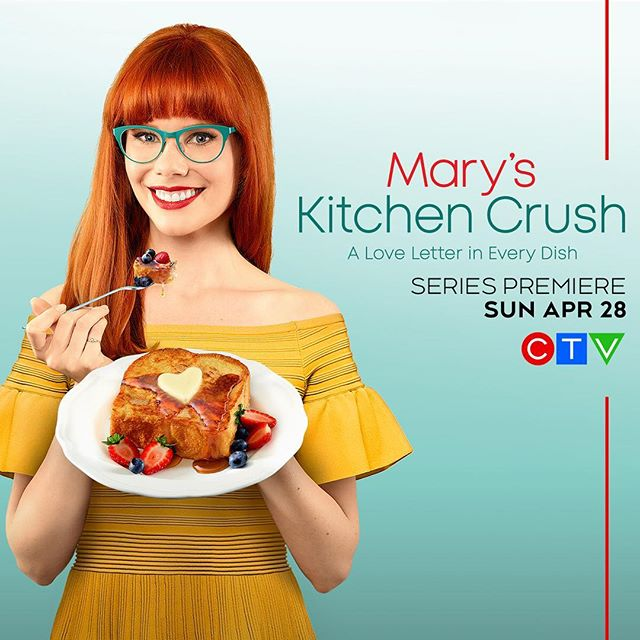 THIS 🎉 IS 🎉 HAPPENING 🎉 Oh my gosh, I can't even begin to tell you how excited I am to welcome you all to my kitchen!! Get ready for all of the good food and lots of dad jokes - coming your way starting on Sunday, April 28th at 7pm❤️ #MarysKitchenCrush #theworldhadbetterbereadyforMamaB