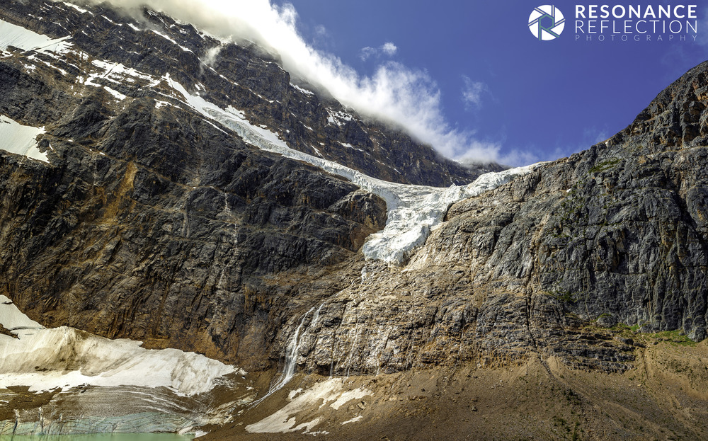 -Mount Edith Cavell in Jasper National Park, Alberta, Canada
