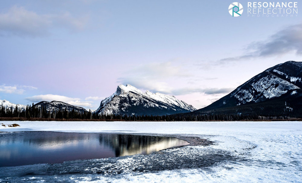Mount Rundle. Banff National Park, Alberta, Canada.