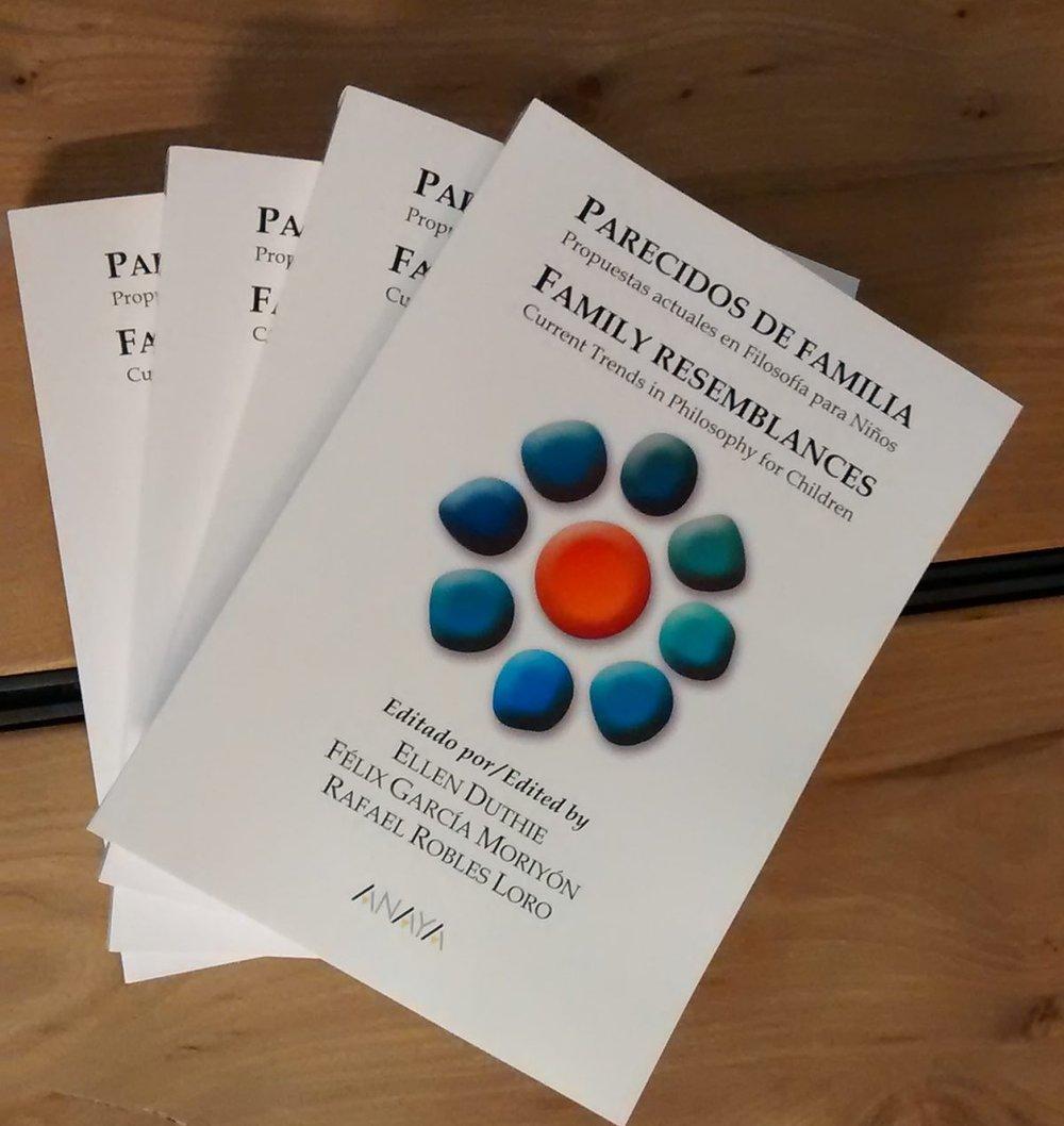 Parecidos de Familia. Propuestas actuales en Filosofía para Niños. Editado junto a Félix García Moriyón y Rafael Robles Loro, Anaya, 2018.