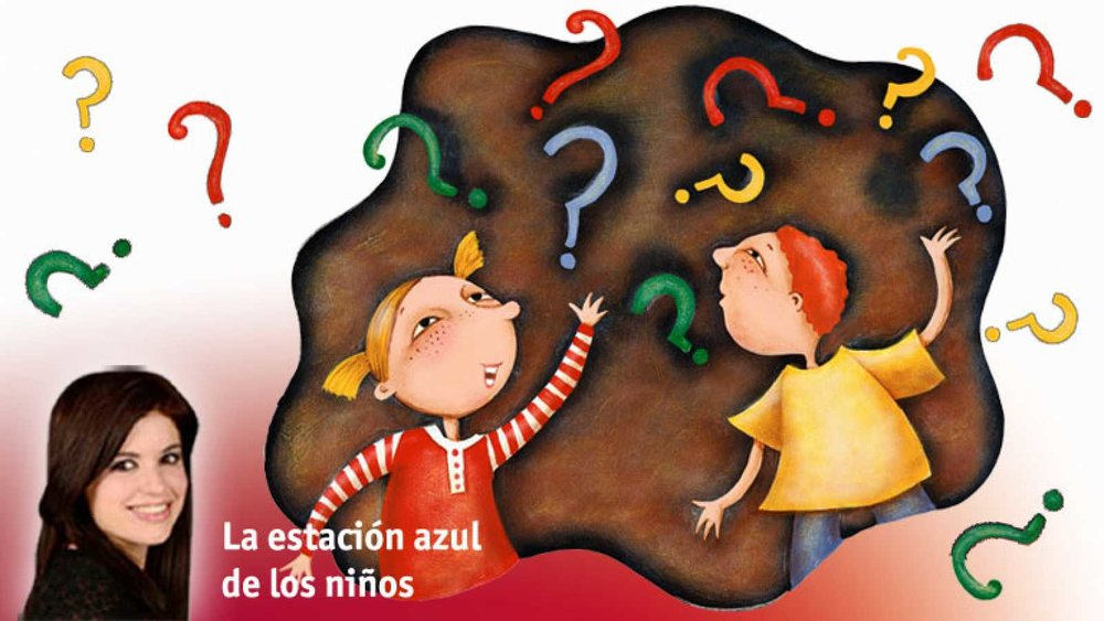 Filosofía y suerte - Más Wonder Ponder en La estación azul de los niños de Radio 5 (RNE) con Cristina Hermoso de Mendoza