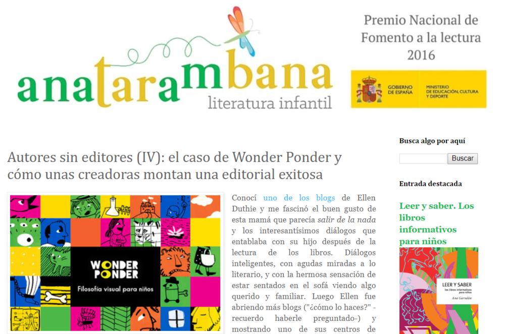 El caso de Wonder Ponder - Entrevista de Ana Garralón a Ellen Duthie, Daniela Martagón y Raquel Martínez Uña (Wonder Ponder)