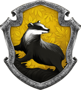 Hufflepuff House Seal. Digital image.   Harry Potter Wiki  . Fandom by Wikia, n.d. Web. 21 Dec. 2016.