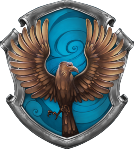 Ravenclaw House Seal. Digital image.   Harry Potter Wiki  . Fandom by Wikia, n.d. Web. 21 Dec. 2016.