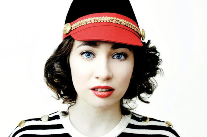Regina Spektor: Image source http://the-indie-pendent.com/single-review-bleeding-heart-regina-spektor/