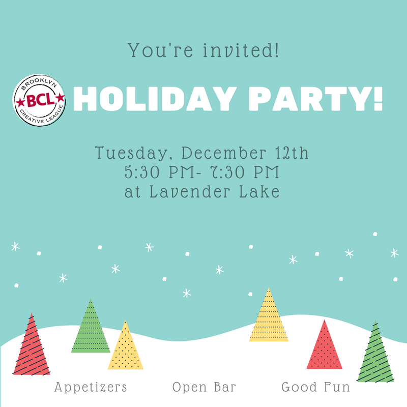 Holiday Magic On Lake Wingra Pickup >> Bcl Calendar Brooklyn Creative League Coworking Private Offices