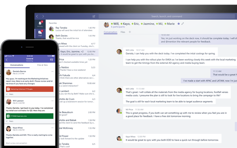Collaborate in real time and keep your Outlook inbox free - Microsoft Teams