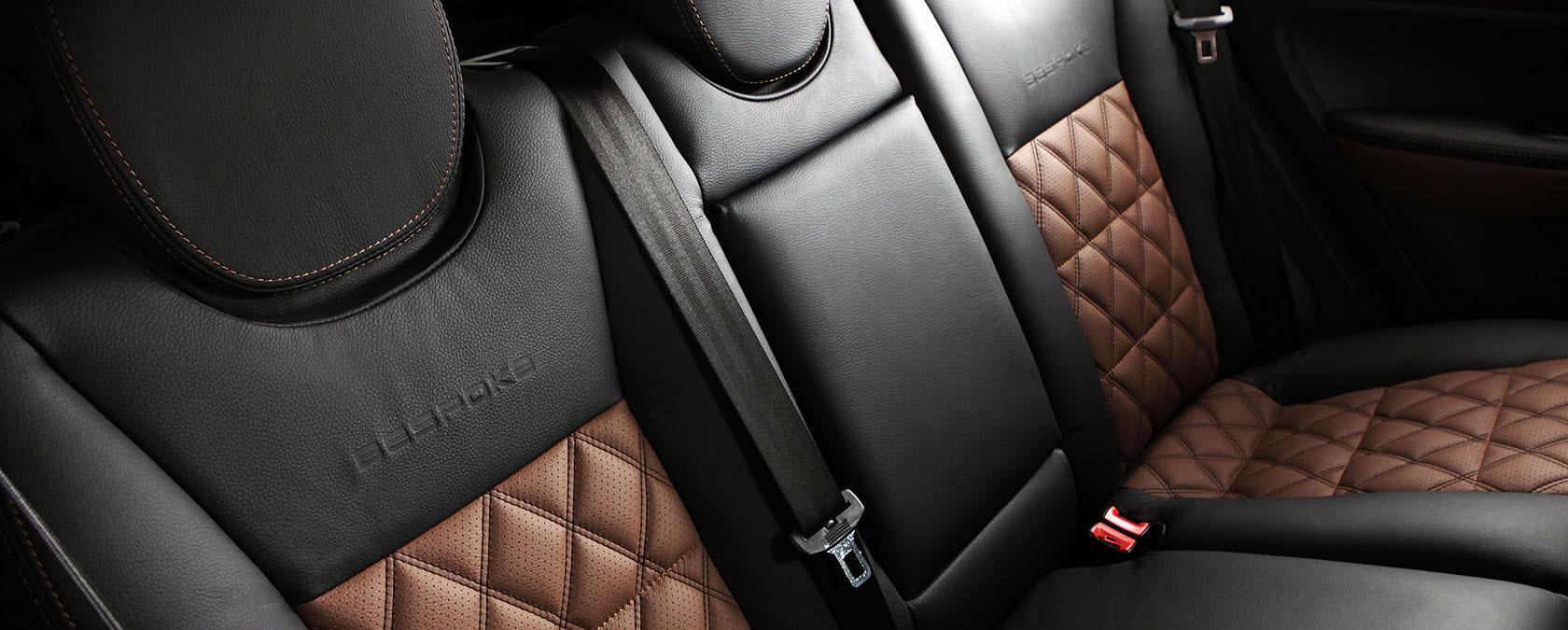 interior leather car. Black Bedroom Furniture Sets. Home Design Ideas