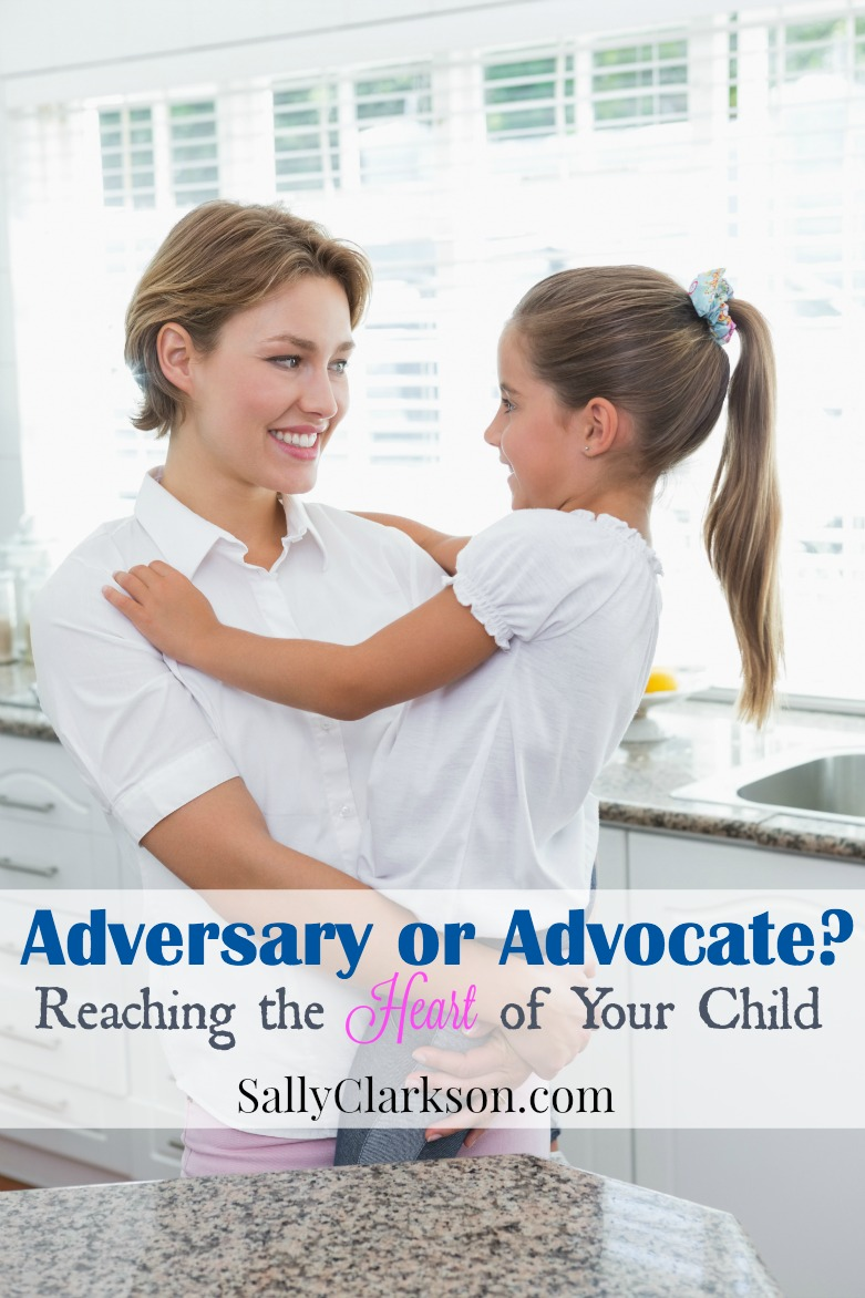 Do your children see you as an adversary or an advocate? Are you waiting to point out their mistakes or are you cheering them back to the race of life?
