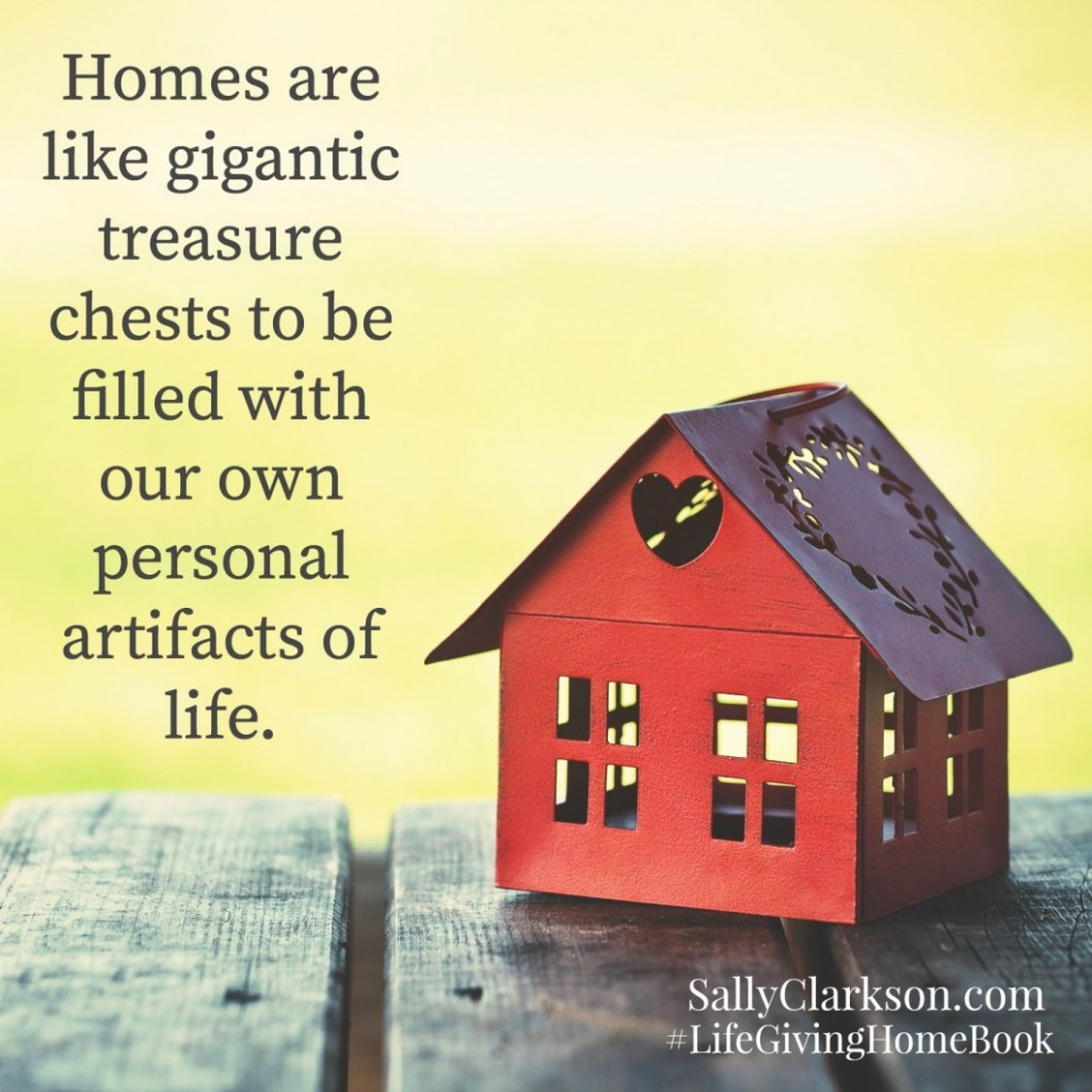 Homes Are Like Treasure Chests