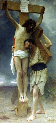 """Compassion"" William Adolphe Bouguereau (1897)"