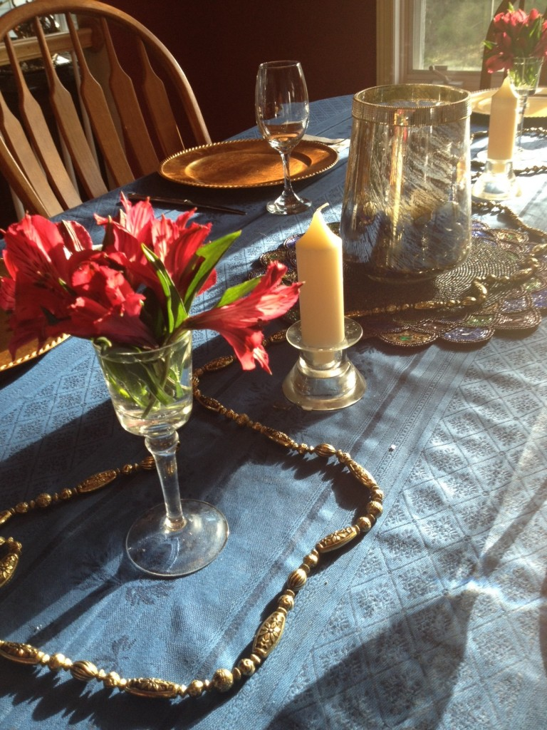 iPhoto Library table setting