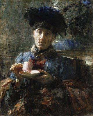Old_Woman_Drinking_Tea