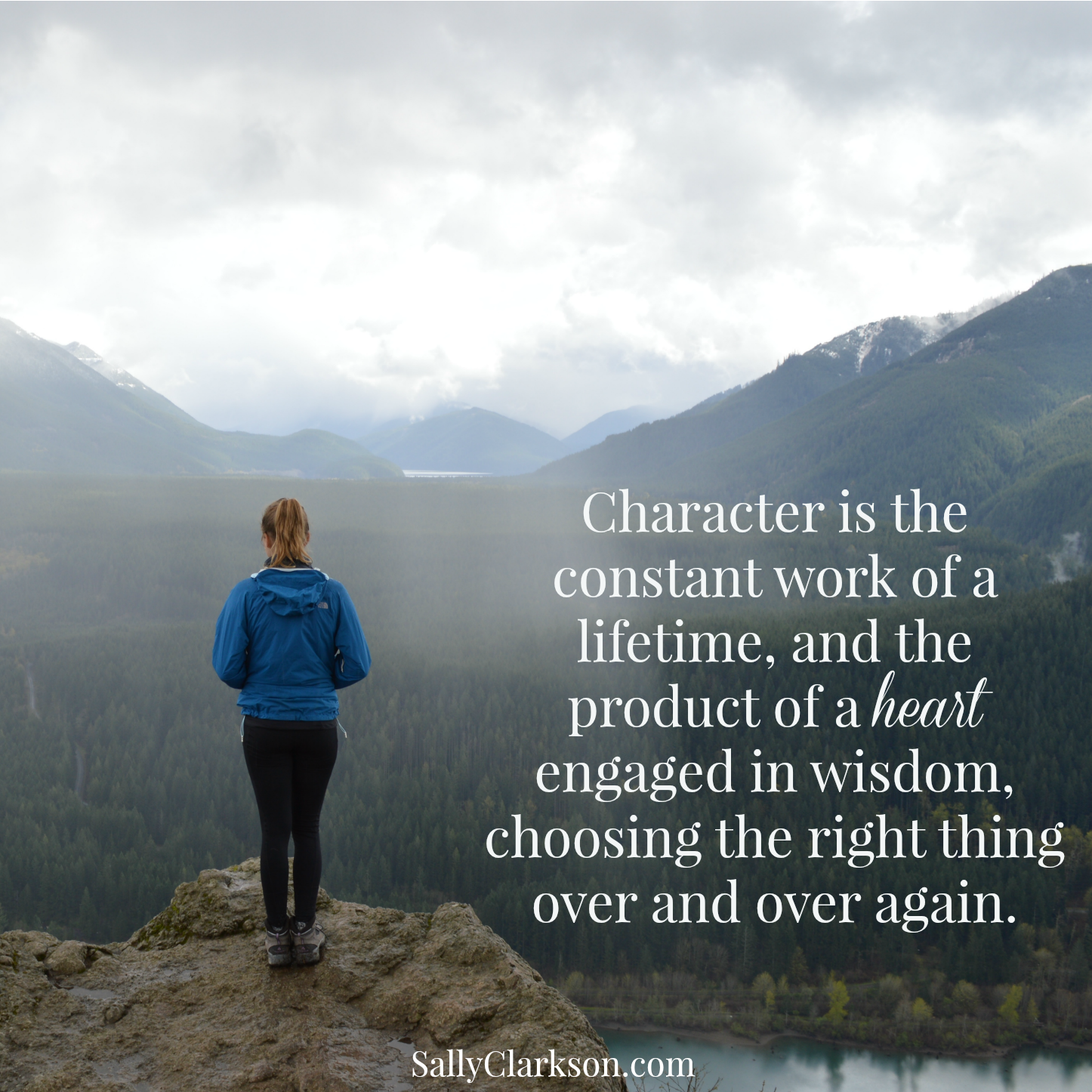 Character is Constant Work
