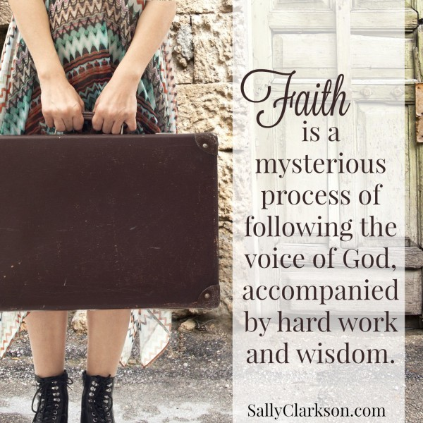 Faith is a Mysterious Process