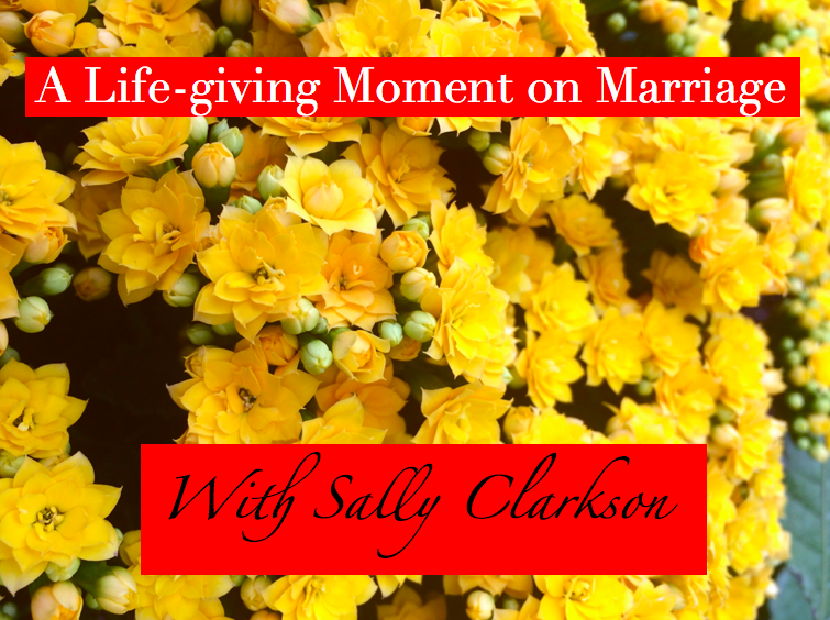 Life-Giving Moment on Marriage