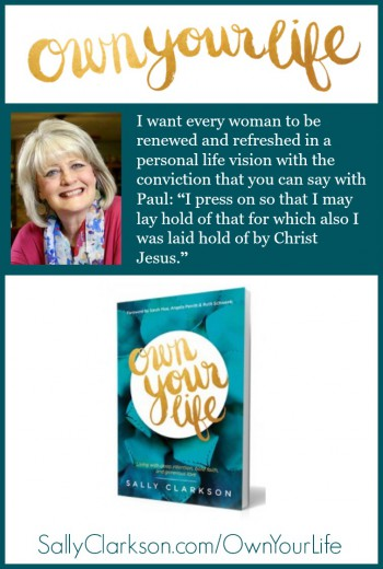 Sally's new book, Own Your Life, is now available for pre-order!