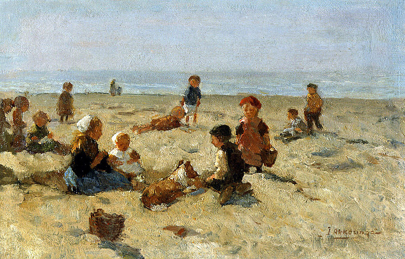 Akkeringa_Playing_on_the_beach
