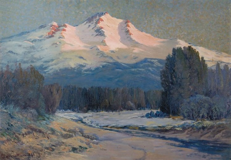Ernst_William_Christmas_-_'Mountain_View',_oil_on_canvas