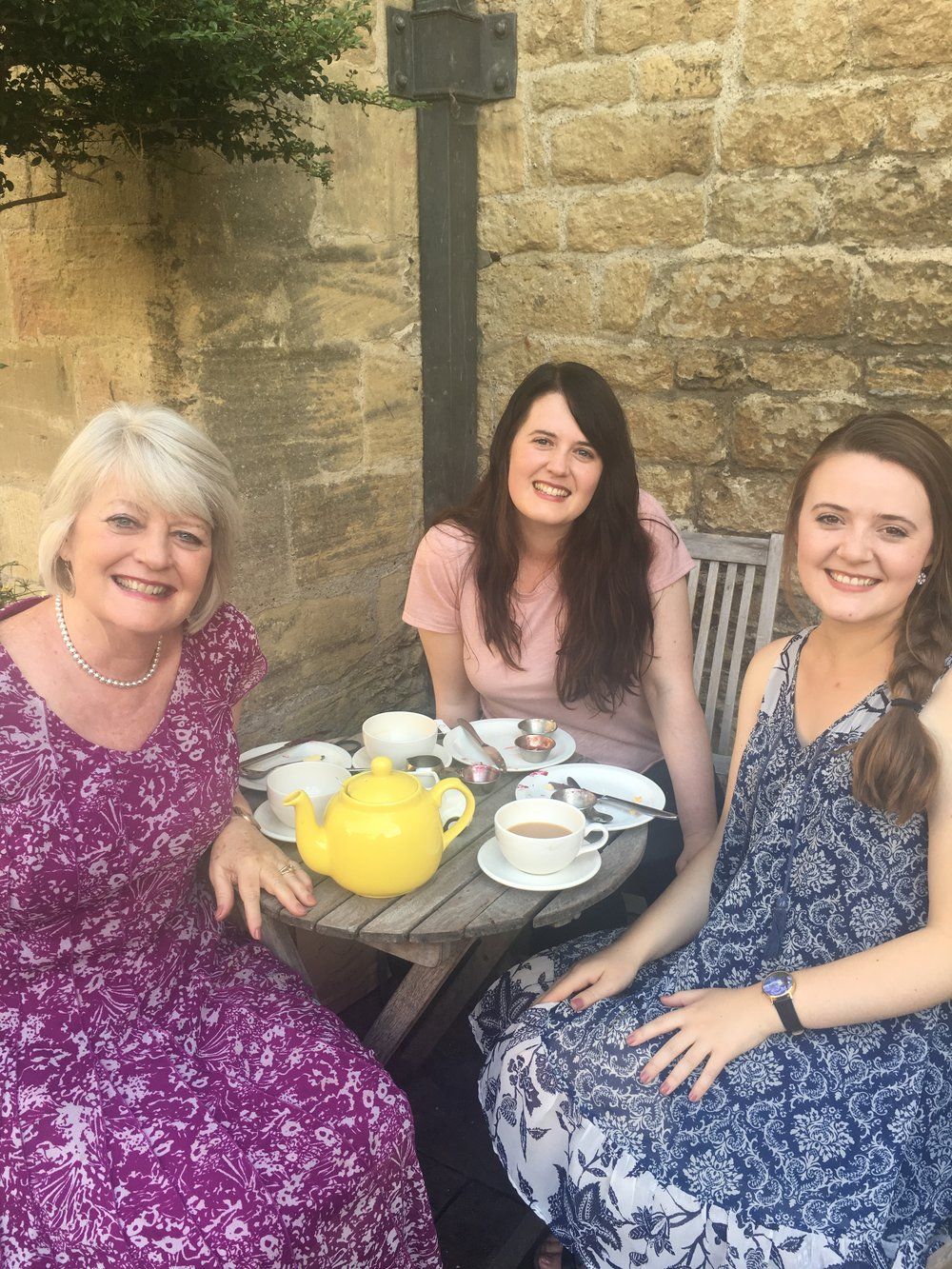 Girl's club: our last time of sharing life secrets and friendship together in Oxford before I got married. This is a life-long tradition with us girls. It has held us through many hard times.