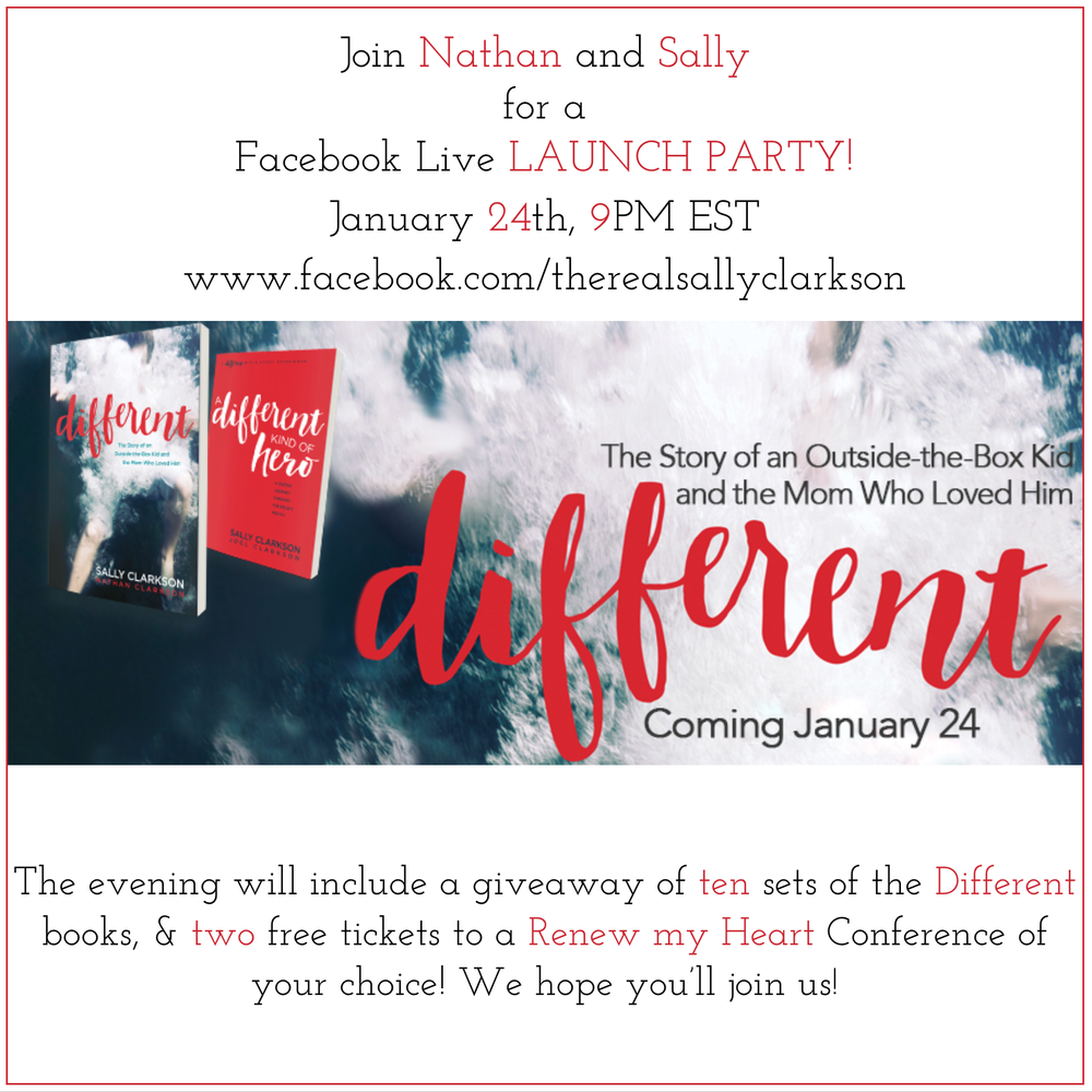 Hope you and your friends will gather for a party and join Nathan and me celebrating our book launch!