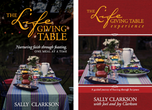 Buy yours today and join Kristen and me in our 7 week series on Discipleship principles to win the hearts of those who join you at your table.