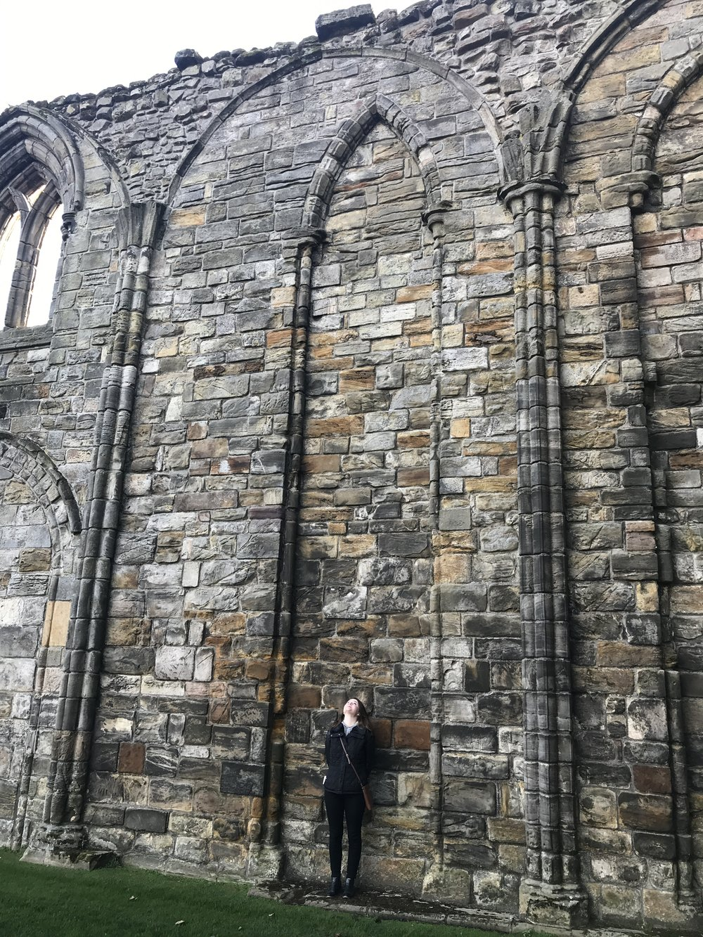 Thousands and thousands of people worshipped in this place. The people of the town were riled up to tear down the old cathedral where pilgrimages had been made for hundreds of years. The enormity of the building is almost beyond my imagination.