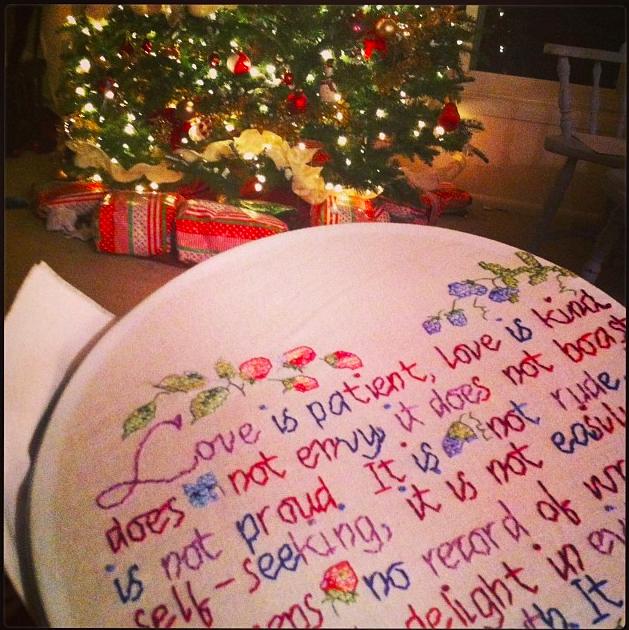 Christmas tree 1 Corinthians