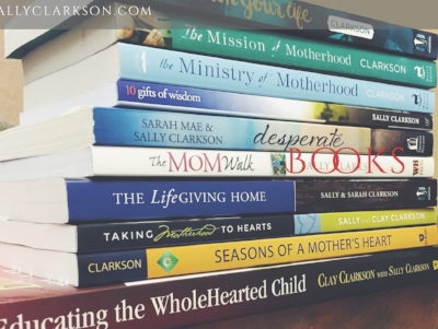 Books and messages have been at the heart of our ministry. We desire to help parents understand the biblical design of family, parenting and building a godly legacy. So far we have written   21 books and have 6 more comin  g out in the next couple of years! Stay tuned. (INCLUDING A NEW BOOK THAT CLAY MAINLY WROTE THAT WILL BE ONE YOU CAN SHARE WITH YOUR HUSBANDS--THE BOOK MANY HAVE ASKED US TO WRITE FOR MANY YEARS.)