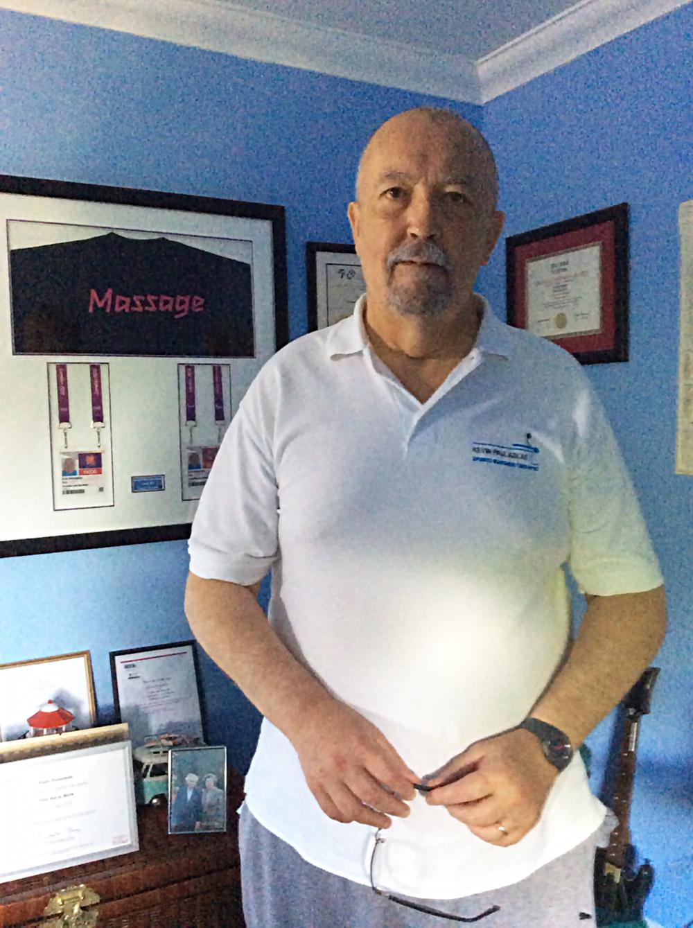 Kevin Paulaskas, Registered Therapist