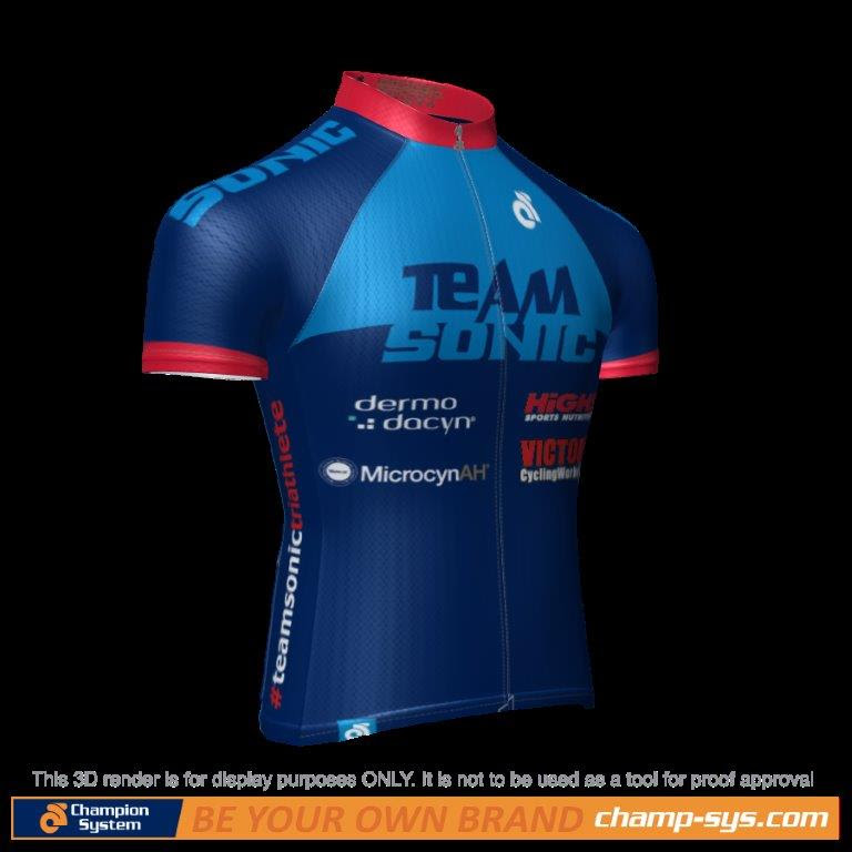 Short-sleeve cycling jersey $550