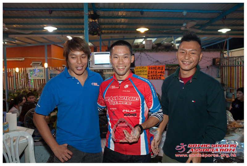 Triathlete of the year 2009 - Jacky Mak
