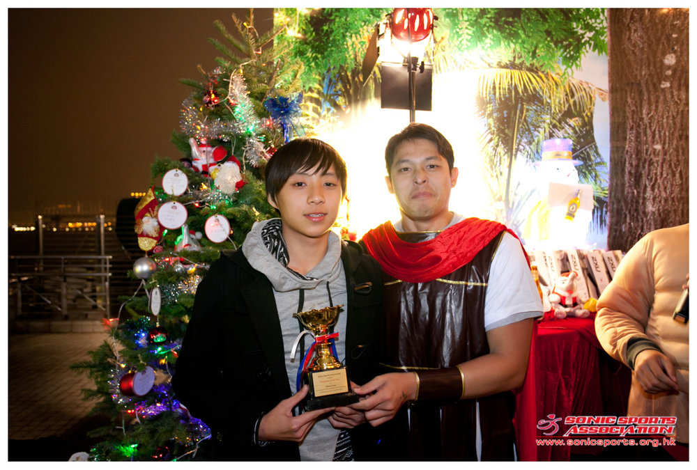 Triathlete of the year 2011 - Michael Lam