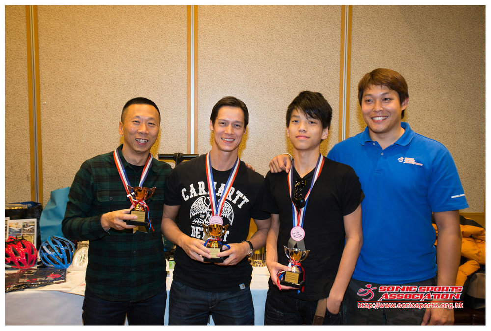 Time Trial series award 2012 - men
