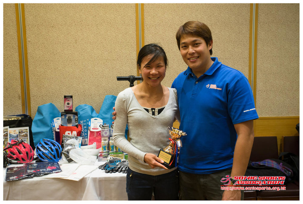 Triathlete of the year 2012 - Jeanette Wang